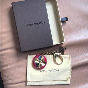 Authentic LV Bag Charm Key Chain